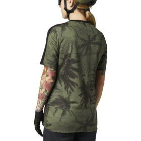 Fox Ranger Dri-Release Foxhead SS Jersey Women, olive green